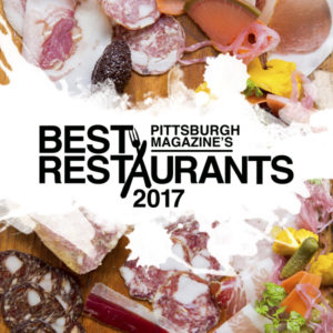 "Winner of Pittsburgh's Magazine ""Best Seafood"" 2017"